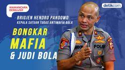 Wawancara Eksklusif Hendro Pandowo, Bongkar Mafia dan Judi Bola
