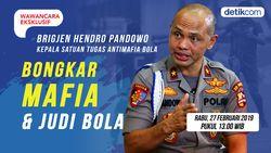 Tonton Wawancara Eksklusif Hendro Pandowo, Bongkar Mafia dan Judi Bola