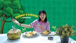 Kokonut & Curtains, Kafe Instagramable Jakarta Rasa Bali