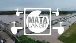 Bak Lautan! Potret Banjir di Tol Madiun dari Lensa Drone