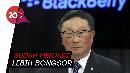 CEO BlackBerry Tak Izinkan Karyawannya Beli Ponsel Layar Lipat