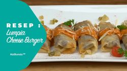 Resep Lumpia Cheese Burger