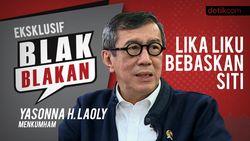 Blak-blakan Menkum Yasonna H Laoly: Lika-liku Bebaskan Siti