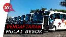 1.200 Bus & 100 Truk Disediakan di Mudik Gratis 2019