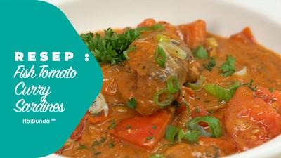 Resep Fish Tomato Curry Sardines