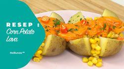 Resep Corn Potato Lava