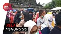 Penggemar Heboh Nonton Super Junior dan TVXQ Syuting di Borobudur