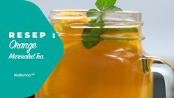 Resep Orange Marmalade Tea