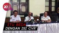 KNKT Klarifikasi Kabar Rekaman yang Disebut-sebut CVR Lion Air