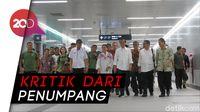Jokowi Terima Keluhan akan MRT, Apa Saja?