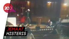 Ngeri! Pastor Kanada Ditikam saat Misa Disiarkan Langsung