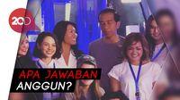 Anggun Ditanya Jokowi Apa Beda MRT Paris dan Jakarta