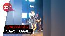 Beredar Video Agnez Mo Nangis di Atas Panggung