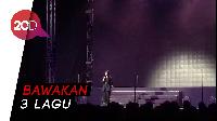 Isyana Sarasvati Buka Konser Boyzone