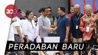 Sah! Jokowi Resmikan MRT Pertama di Indonesia