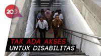 Anies Sebut Halte Integrasi TransJ-MRT Tak Ramah Disabilitas