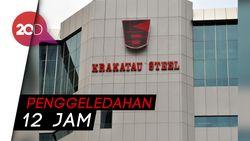 KPK Sita Sejumlah Dokumen dari Kantor Krakatau Steel