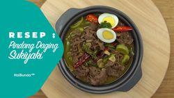 Resep Pindang Daging Sukiyaki
