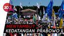Panas-panasan Demi Sambut Prabowo di Karawang