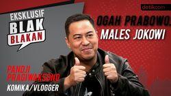 Blak blakan Pandji Pragiwaksono: Ogah Prabowo, Males Jokowi