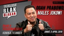 Tonton Blak blakan Pandji Pragiwaksono: Ogah Prabowo, Males Jokowi