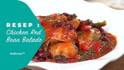 Resep Chicken Red Bean Balado