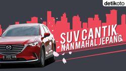 Menguji SUV Mahal CX-9 di Panasnya Tol Trans Sumatera