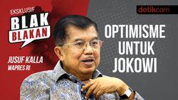 Blak blakan Jusuf Kalla: Optimisme untuk Jokowi