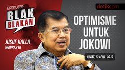 Tonton Blak blakan Jusuf Kalla: Optimisme untuk Jokowi