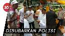Aksi Sekelompok Orang Berbaju FPI Datangi TPS di Tanjung Duren
