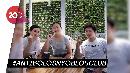 Gaya Santai Veronica Tan Nyoblos Bareng Anak-anaknya