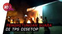 Video Massa Geruduk Pos TNI AL di Pusong