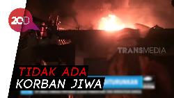 Ratusan Kios di Pasar Lawang Malang Ludes Terbakar
