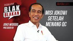 Blak blakan Jokowi: Misi Jokowi Setelah Menang QC
