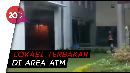 Terminal Keberangkatan Domestik Bandara Ngurah Rai Terbakar