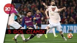 Messi Terbaik, Ini Gol-gol Cantik Perempatfinal Liga Champions
