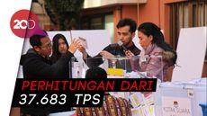 Real Count Sabtu Pagi: Jokowi 54,89% dan Prabowo 45,11%