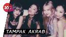 Akhirnya! Momen Keakraban BLACKPINK dan Ariana Grande