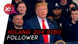 Ketika Donald Trump Protes Hilang Banyak Follower ke Bos Twitter