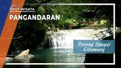 Keindahan Wisata Sungai Citumang, Pangandaran