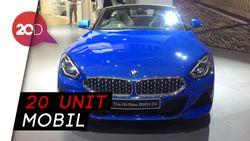 Mobil BMW Z4 Roadster Unjuk Gigi di IIMS 2019