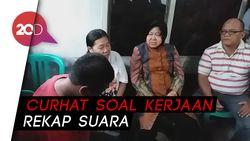 Raut Duka Keluarga KPPS yang Meninggal saat Dikunjungi Risma