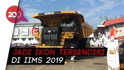 Truk Raksasa Caterpillar 777E Mejeng di IIMS 2019