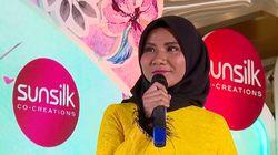 Nyanyian Tiara Yang Penuh Power - Sunsilk Hijab Hunt 2019 Medan