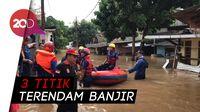 Banjir Setinggi 2 Meter Terjang Pasar Minggu