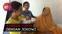 Lahir di Tengah Panas Pemilu, Bayi Ini Diberi Nama Jokowi Maruf