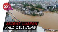 Penampakan Banjir di Jatinegara dari Udara