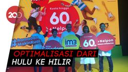 Indosat Ooredoo Pastikan Jaringan Aman Meski Trafik saat Lebaran Tinggi