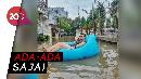 Kelakuan Warga Bekasi Lagi Banjir Bikin Geleng-geleng Kepala