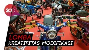 Ratusan Modifikator Honda Berlomba di Pekanbaru